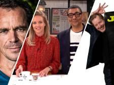Muzikant en schrijver Jan Rot en psychiater Bram Bakker in De Ochtend Show to go