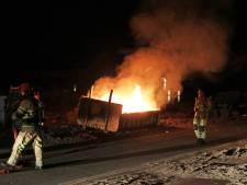 Extra surveillances op Urk: 'Branden krijgen een hogere prioriteit'