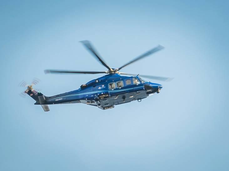 Dreigende Eindhovenaar aangehouden na zoektocht met politiehelikopter