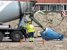 Funderingswerk terrein gasfabriek Culemborg hervat