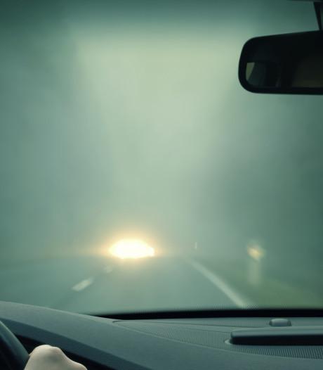 ANWB waarschuwt voor dichte mist: code geel in Gelderland