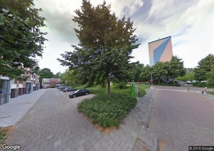 De plek waar de brand aan de Klooienberglaan plaatsvond. Foto: Google Streetview
