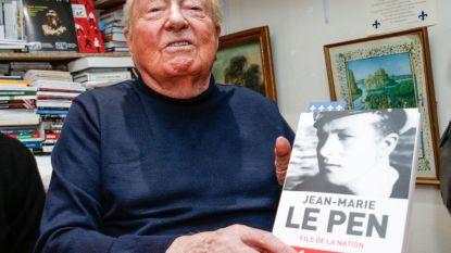 """Jean-Marie Le Pen vindt naamswijziging FN """"rampzalig"""" en """"echte politieke moord"""""""