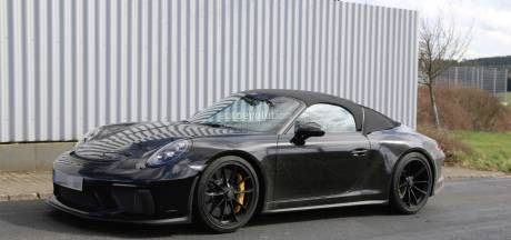 De nieuwe Porsche 911 Speedster wordt een kapsel verwoestend monster