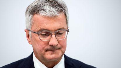 Topman Audi gearresteerd om dieselfraude