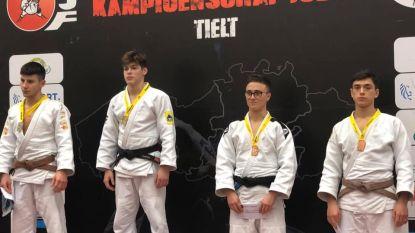 Hamse judoka's behalen medailles op Vlaams Kampioenschap bij de jeugd