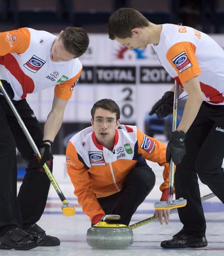 Einderlijk zege voor curlingmannen op WK