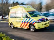 Auto knalt tegen boom, bestuurder zwaargewond naar ziekenhuis