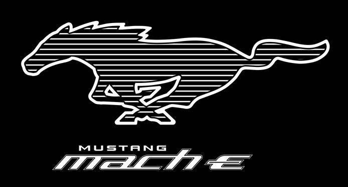 De Mach E krijgt het iconische logo van de 'klassieke' Mustang