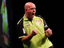 Van Gerwen klopt 'Barney' en staat in de finale in Brisbane