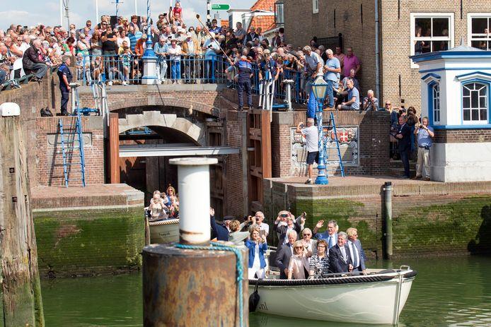 De heropening van de Monstersche Sluis in het centrum van Maassluis heeft voor flink wat extra varende toeristen gezorgd.