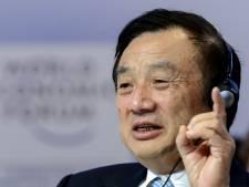 Huawei-topman lacht om Trump: 'Als hij me belt, neem ik misschien niet eens op'