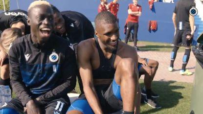 """Club Brugge-spelers dollen in Doha: """"Je hebt een beha aan!"""""""