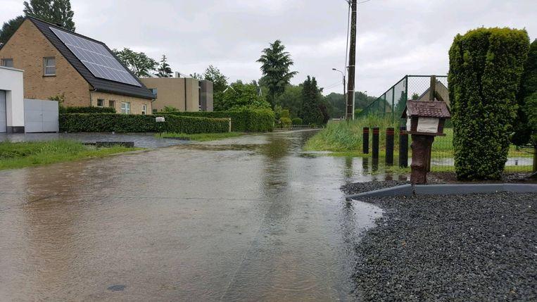 De Kapelleweg in Ramsel.