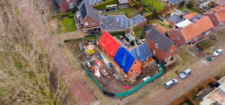 Er zit eindelijk een dak op het slakkenhuis van Oisterwijk