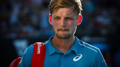 David Goffin blijft ondanks vroege exit down under zevende op ATP-ranking
