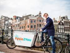Olivier Boon is een fietsensvlugge fysio aan huis