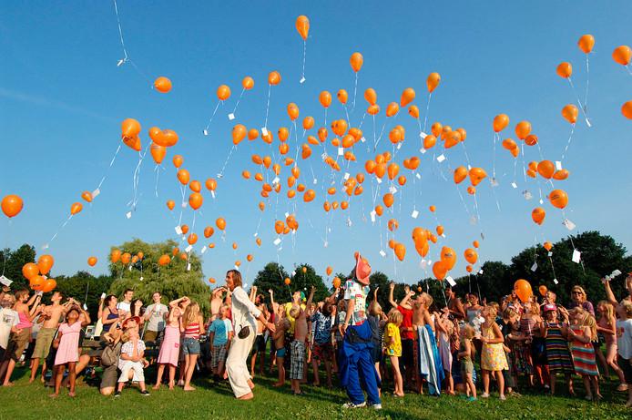 Ballonnen oplaten is verleden tijd in Zoetermeer.