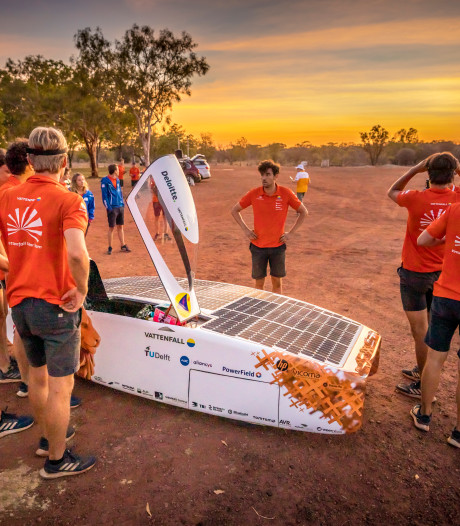 TU Delft pakt koppositie in World Solar Challenge