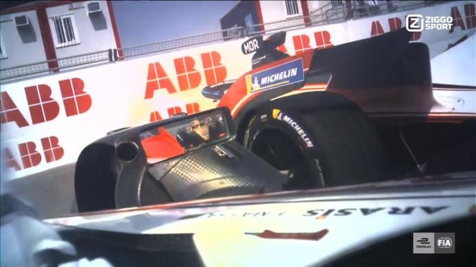 Hoogtepunten van de Formule E-race in Santiago.