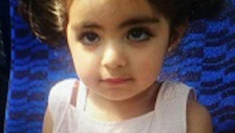 Insiya Hemani (2,5) is sinds donderdag vermist Beeld Politie