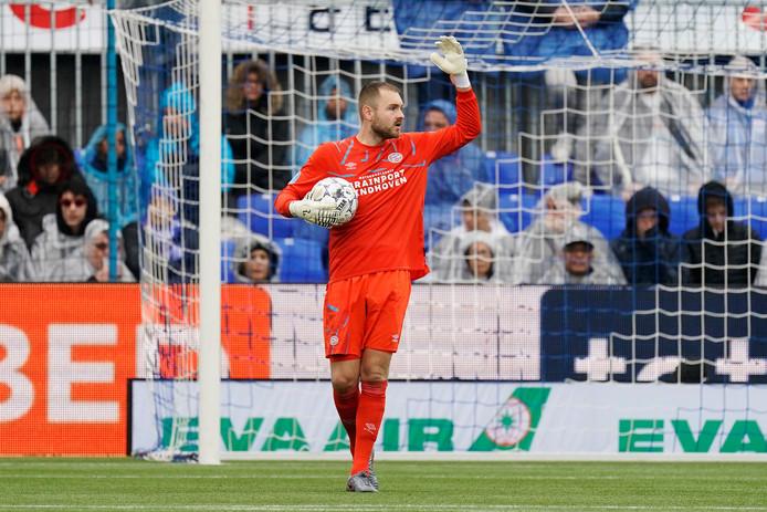 Jeroen Zoet keepte prima tegen PEC Zwolle.