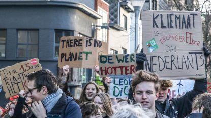 VIDEO Klimaatacties spijbelende jeugd gaan wereld rond: ook in Kortrijk weer actie