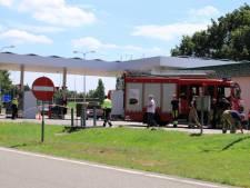 Tankstation langs A1 ontruimd om lpg lekkende auto