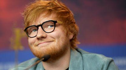 Villa van Ed Sheeran vat vuur