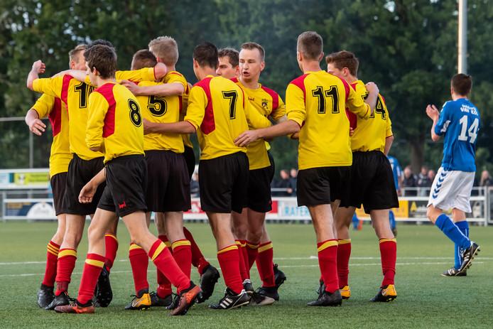 Grol-Vios Beltrum eindigde zaterdag in 3-3. Foto Lars Smook