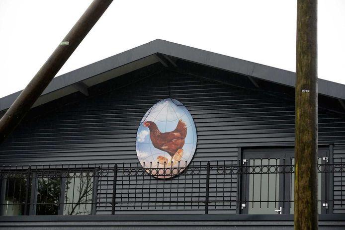 De pluimveeboerderij in Hekendorp waar vogelgriep is vastgesteld.