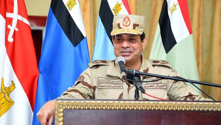 Abdel Fattah al-Sisi. Beeld null
