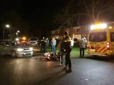 Scooterrijder gewond na aanrijding met auto in Zevenaar