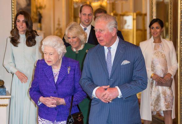 Het evacuatieplan van de Britse koninklijke familie ligt klaar.
