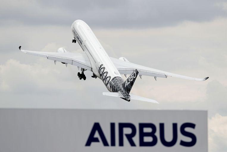 Een Airbus A350-1000 XWB.