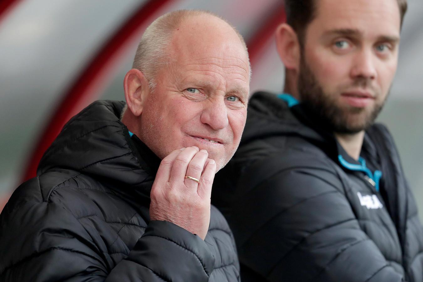 Interim-trainer Ron de Groot van NEC.