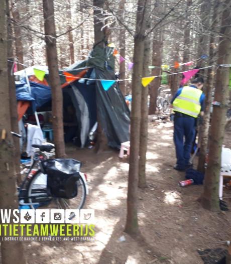 Illegale kampeerders Breda Noord-West moeten vertrekken