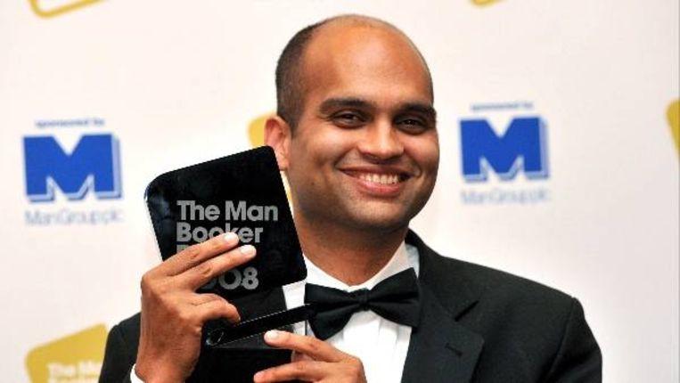 Aravind Adiga, winnaar van de Man Booker Prize. (EPA) Beeld