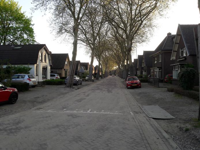 Verrassend Klinkers vervangen asfalt op Westenenkerweg in Apeldoorn Zuid UU-72