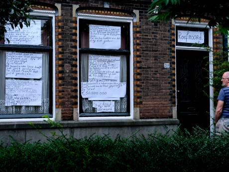 Huis vol 'roofmoordbiljetten' baart opzien in de Dordtse Rozenhof