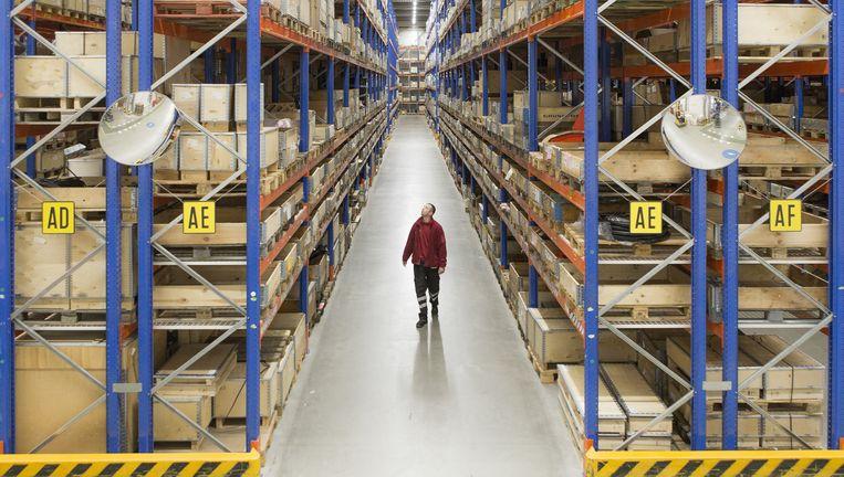 CEVA Logistics, import en export in Nederland. Beeld Mike Roelofs