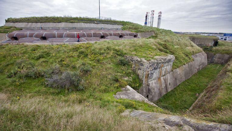 Forteiland IJmuiden is het grootste fort van de Stelling van Amsterdam. Beeld anp