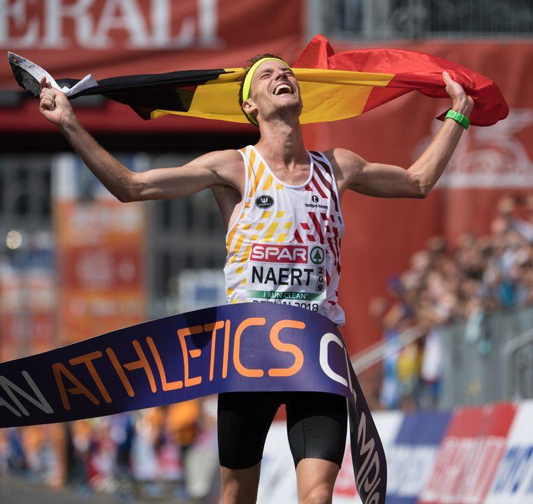 Oostkampenaar Koen Naert is na zijn Europese titel op de marathon een mogelijke kandidaat om gehuldigd te worden.