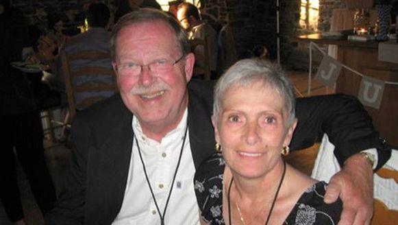 Lee Ballantyne en zijn vrouw Carol, die aan kanker overleed. Een week na haar overlijden ging hij voor het eerst alleen op restaurant.