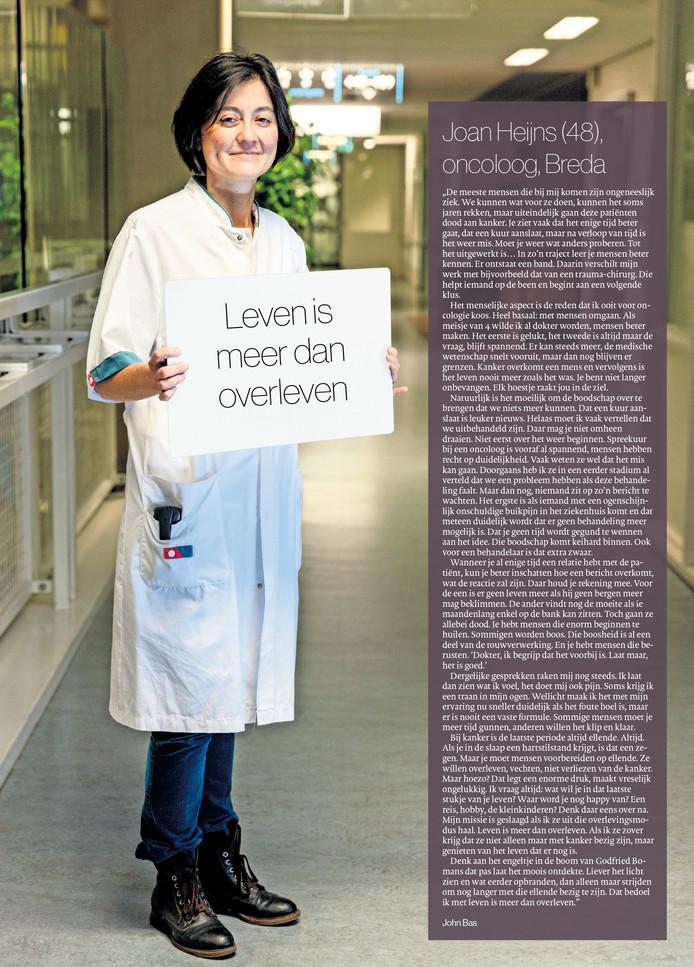 Kerstbijlage Joan Heijns (48), oncoloog, Breda Foto Marcel Otterspeer