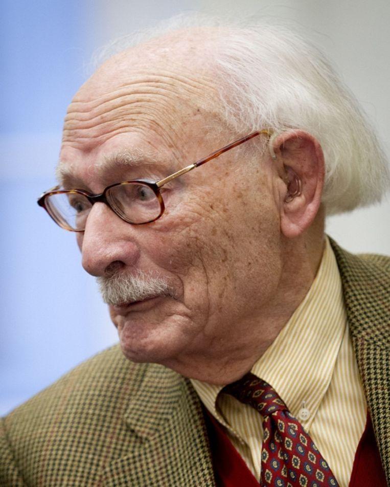 Oud-politicus Johan van Hulst (CDA) in 2012 Beeld anp