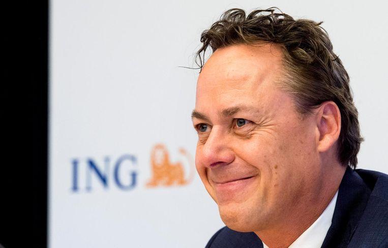 CEO Ralph Hamers van ING: zijn loon zou verhogen met 50% naar 3 miljoen euro.