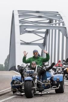 Een feestje op de motor en de trike tijdens Motorrun Doesburg