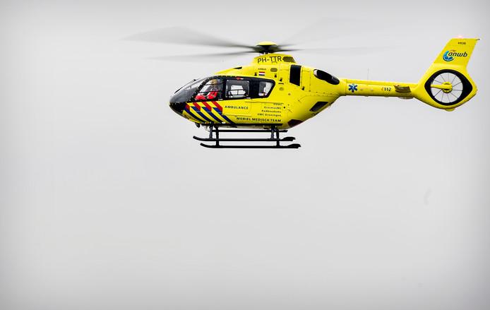 Een traumahelikopter. Beeld ter illustratie.