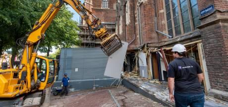 'Lelijke platte doos' bij Eusebius in Arnhem eindelijk tegen de vlakte